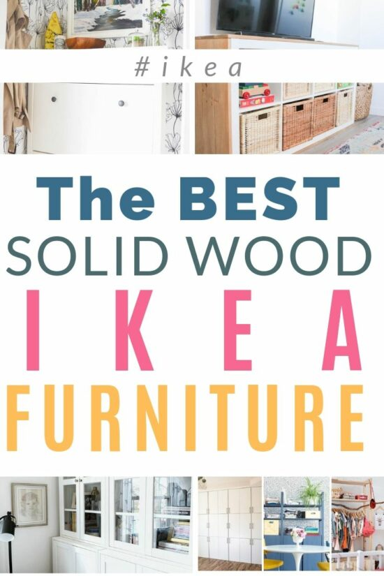 The Best Solid Wood IKEA Furniture (2019) - DIY Passi