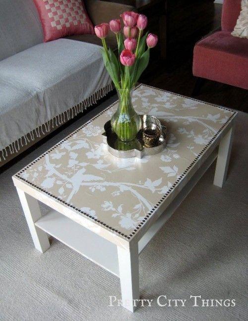 Glamorous IKEA Table Renovation | Shelterness | Ikea lack table .