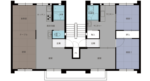 Depopulation in Japan leads company to renovate two apartments .