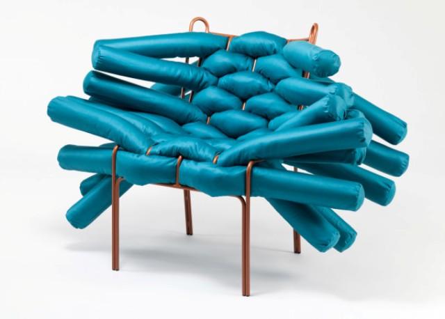 Rethinking Soft Materials In Furniture Design: Unique Chair .