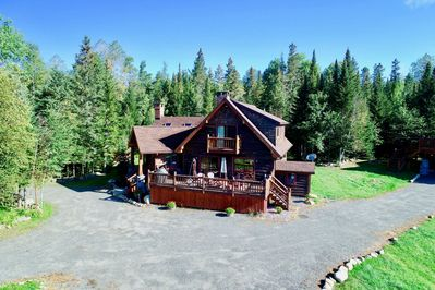 Bobsled Lodge-Stunning Vistas from this Rustic style Adirondack .