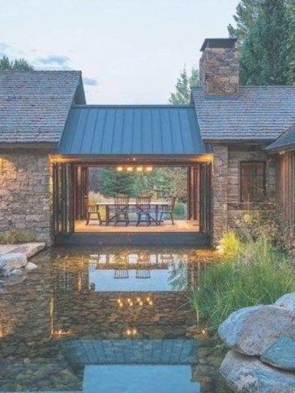 A Wyoming mountain retreat blends contemporary living with rustic .