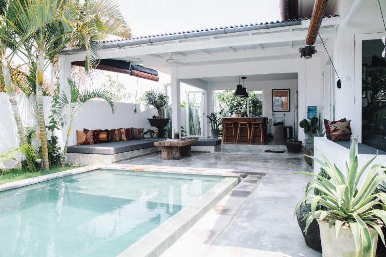 Modern Bali Retreat With East-Influenced Decor - DigsDi