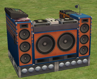 DJ booth   The Sims Wiki   Fand