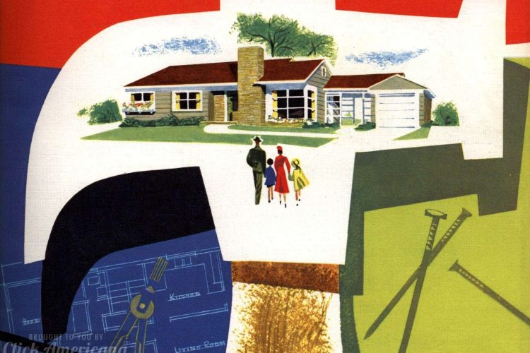 130 vintage '50s house plans used to build millions of mid-century .