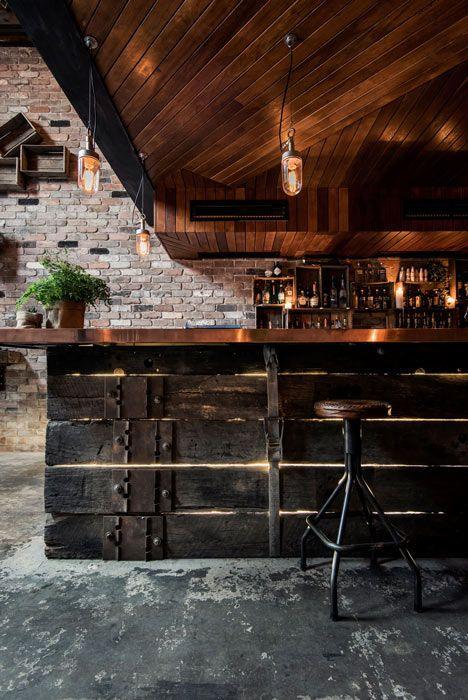 Rustic Atmospheric Bars | Restaurant interior, Bar interior, Bars .