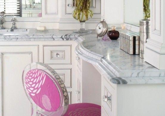 Romantic And Peaceful Bathroom Design Of Marble | Marble bathroom .
