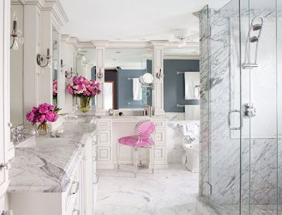 I would kill for a luxury bathroom. A heavenly space to pamper .