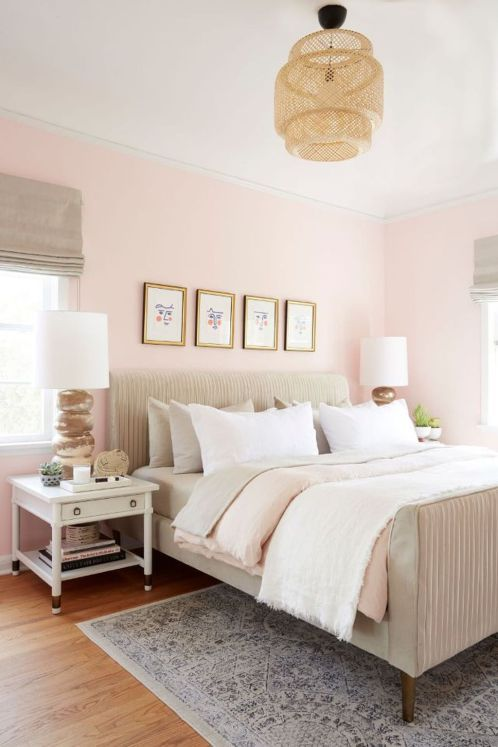 37 Romantic And Tender Feminine Bedroom Design Ideas | Pink .