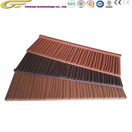 China High-Grade Villa Decoration Roofing Materials Stone Coated .