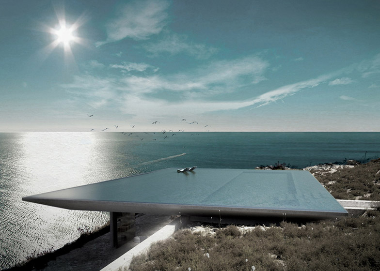 Mirage house by Kois Architects to feature rooftop infinity po