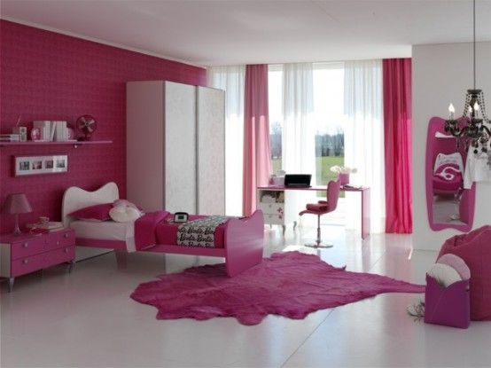 make your life colorful: CUTE BEDROOM WITH BARBIE THEME   Barbie .
