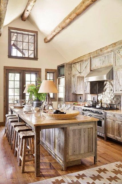 Gourmet Kitchens - The Cottage Market | Rustic kitchen, Country .
