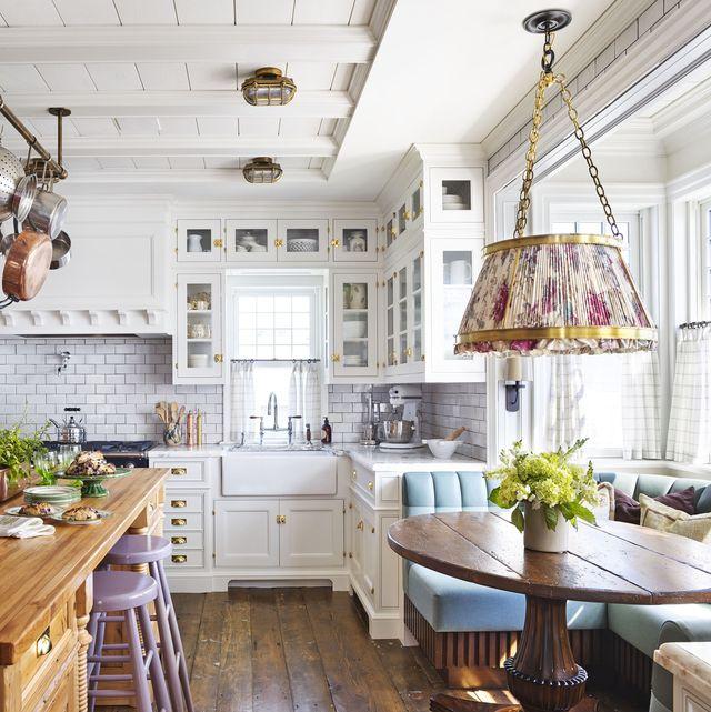 33 Best White Kitchen Ideas - White Kitchen Designs and Dec