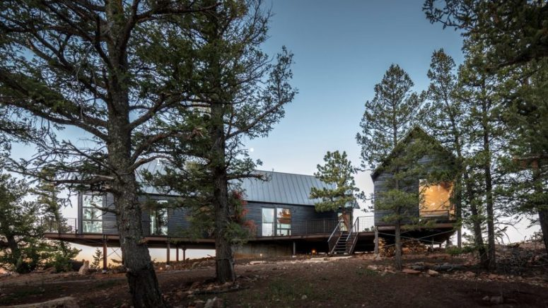 Rustic Cabin Duo On A Remote Forest Site - DigsDi