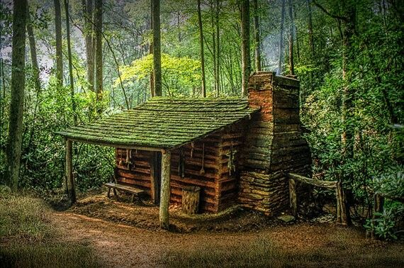 Pin by RT Floyd on Log Cabins & Small homes   Forest cabin, Cabins .