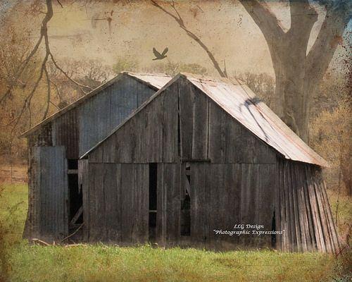 twin barns | Barn, House styles, Rust