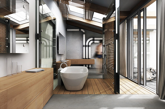 Rustic-Industrial-Interior-Design | Décor A
