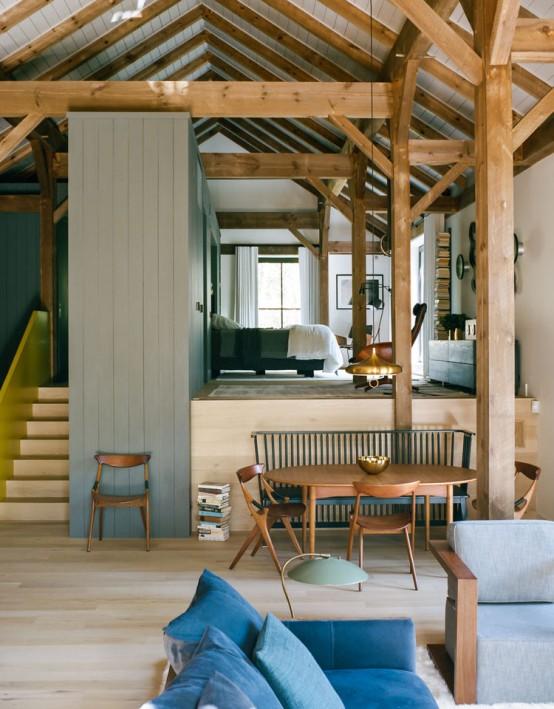 Rustic Passive House, Barn And Sauna Tower Compound - DigsDi
