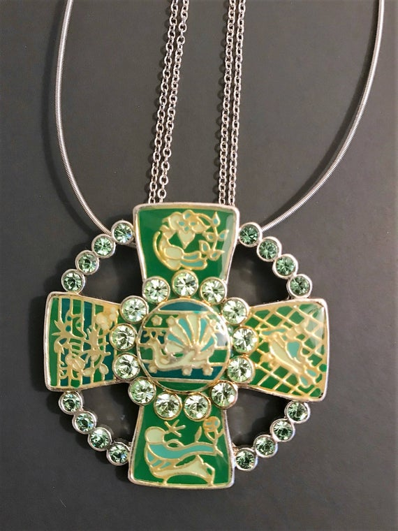 Pilgrim Danish Design Necklace Pilgrin Celtic Cross Necklace | Et