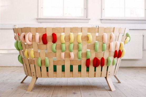 Scandinavian Furniture With Giant Bold Cross-Stitches - DigsDi