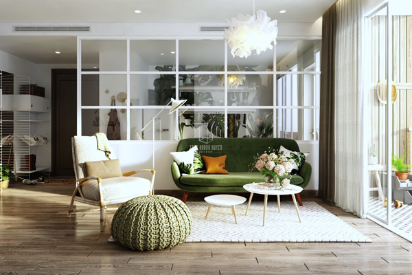 Scandinavian Style Homes With Greenery Accents | HomeMydesi
