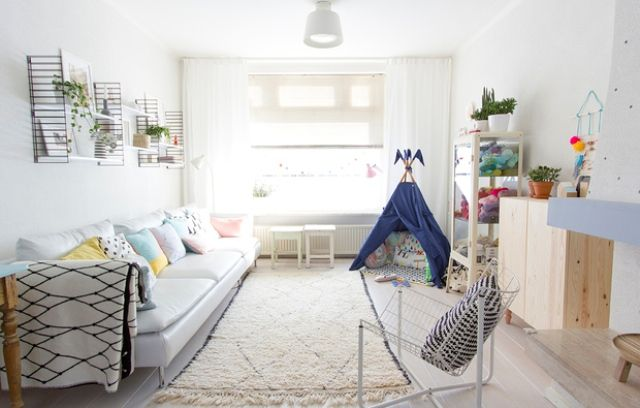 Scandinavian Living Room Design With Pastel Touches | Pastel .