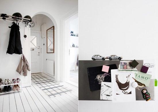 Black, white and pastel touches - Nordic Desi