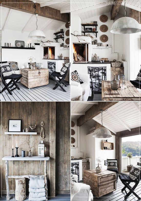 Warm scandinavian living | Living room scandinavian, Rustic house .