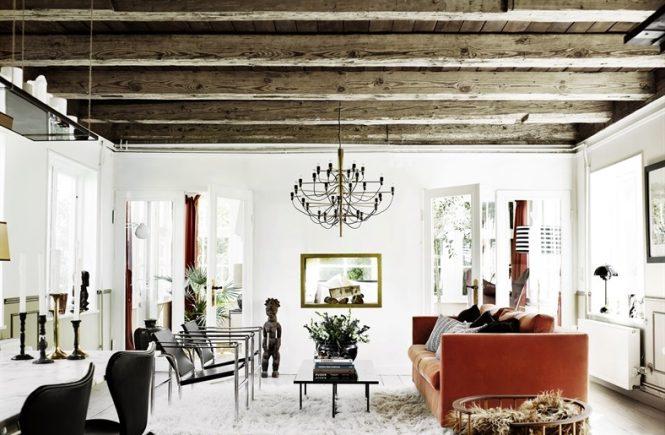 Scandinavian Home With Rustic Elements And Ocean Views - DigsDi