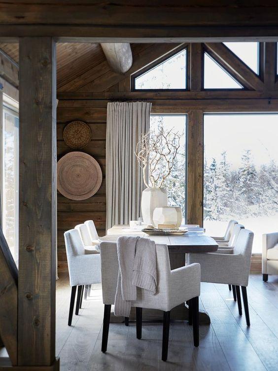 Modern rustic Scandinavian style house in Norway - Rustic Home .