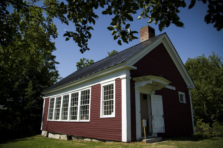 Valley News - 'An Anchor to the Past': Jericho Schoolhouse .