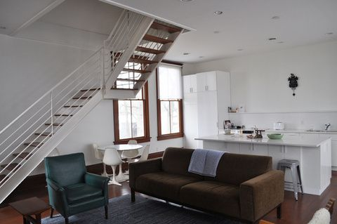 Articles about living 1912 schoolhouse on Dwell.com | Open concept .