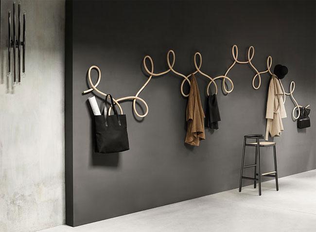 This Sculptural Coat Rack Design Was Inspired By Waltz Danci