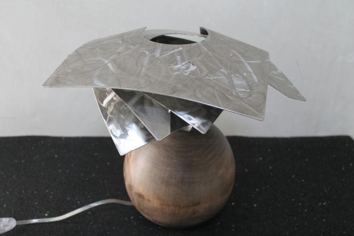 spiral lamp Sculpture by Cristo Ash | Artmaje