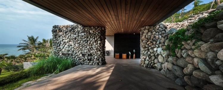 Seaside Taiwanese Home With Local Organic Elements - DigsDi
