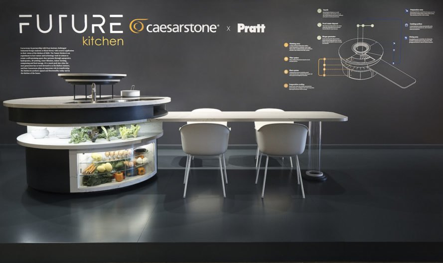 Peek inside the zero-waste kitchen of the futu