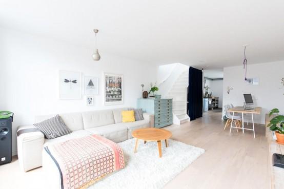 Serene And Spacious Dutch Apartment In Scandinavian Style - DigsDi