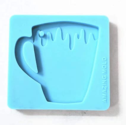 Amazon.com: Coffee Mug Silicone Pendant Mold for Resin Crafting .