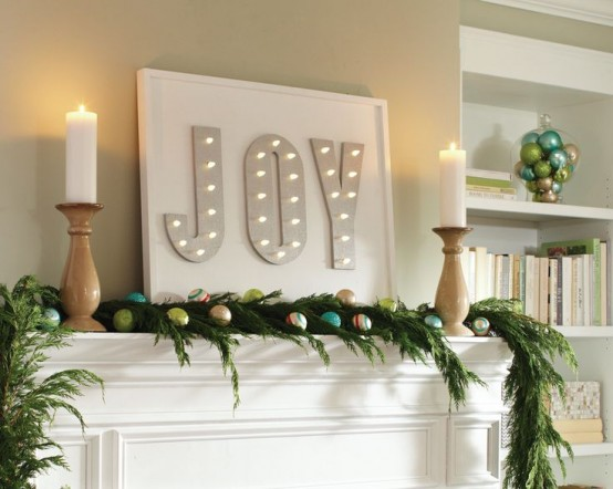 32 Shining Marquee Signs Ideas For Christmas Décor - DigsDi
