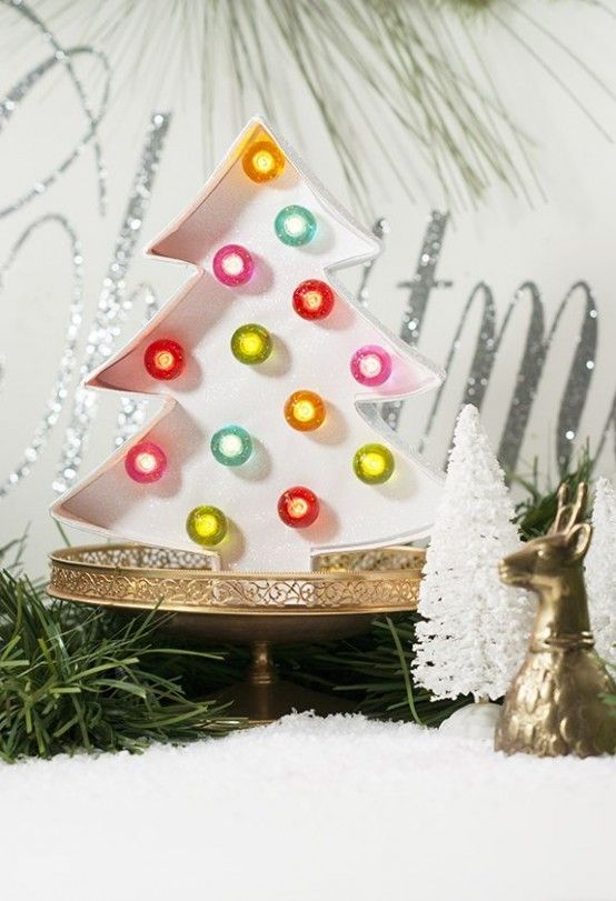 32 Shining Marquee Signs Ideas For Christmas Décor - DigsDigs .