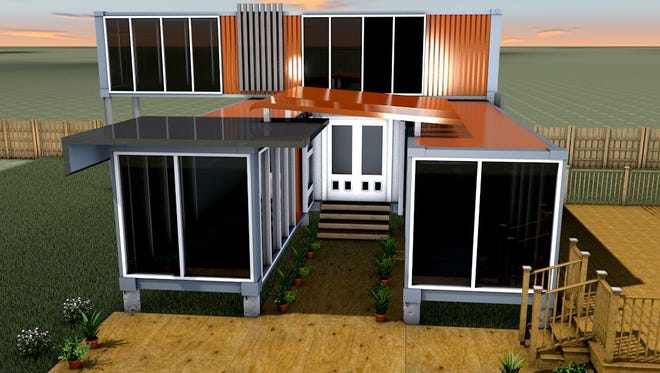 Shipping-container homes take root in Vall
