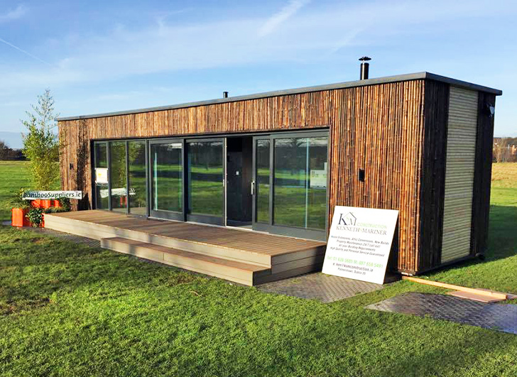 Ireland's first shipping container home was built in just three da