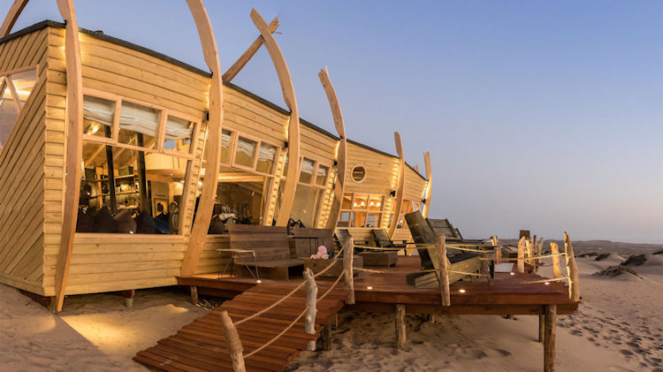 Brand New Flying Safari in Namibia Lets You Stay in Shipwreck Lod