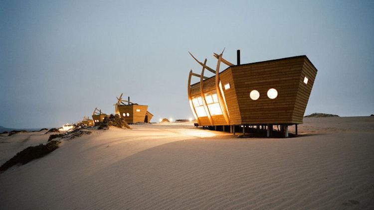 Shipwreck Lodge Hits Shores of Namibia's Skeleton Coa