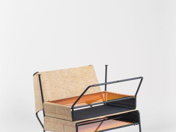 lounge chair ottoman seat - Sibirjak / Lounge Chair with Ottoman .