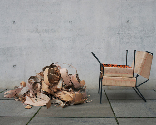 anastasiya koshcheeva configures sibirjak lounge chair from birchba