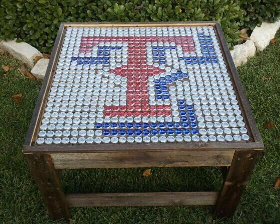 Pin by Tim Fiene on Bottle cap Tables | Beer cap crafts, Bottle .
