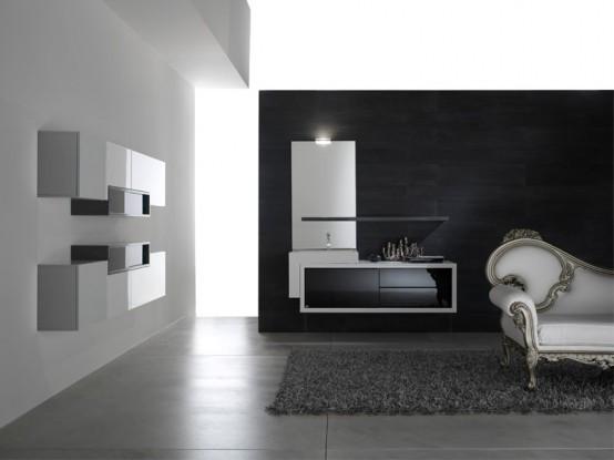 Modern Bathroom Cabinet Designs 2011   HOME MODE