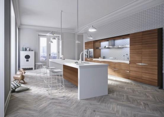 sleek kitchen design Archives - DigsDi